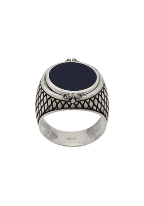 Andrea D'amico chunky ring with stone - Blue