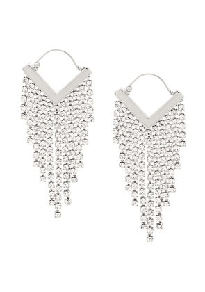Isabel Marant Freak Out earrings - Silver