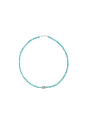 Catherine Michiels bead necklace - Blue
