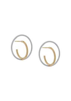 Charlotte Chesnais Saturn small earrings - Metallic