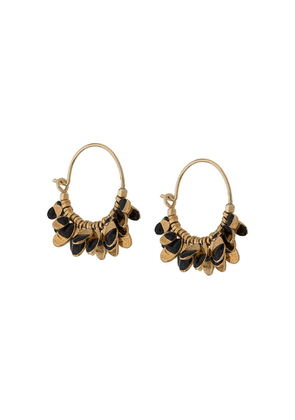 Isabel Marant New Leaves earrings - Black