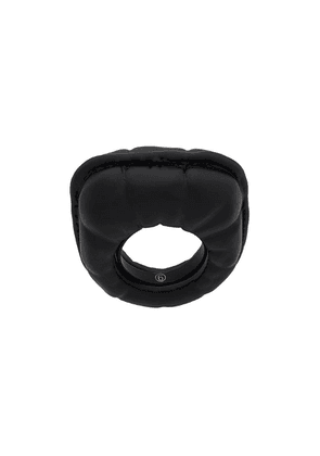 Mm6 Maison Margiela quilt effect ring - Black