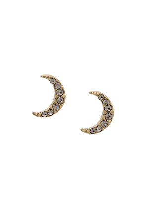 Isabel Marant Full Moon crystal earrings - Gold