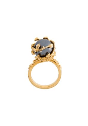 Kasun London Fairytale gold pearl ring - Yellow