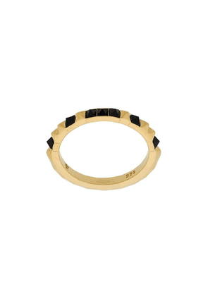Kasun London Crocodile ring - Metallic