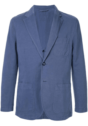 Gieves & Hawkes relaxed blazer - Blue