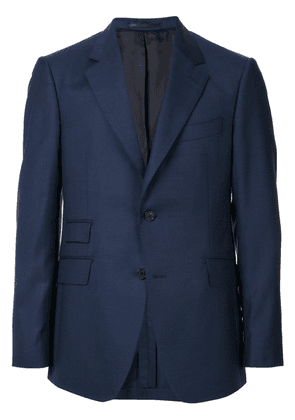 Gieves & Hawkes straight-fit blazer - Blue