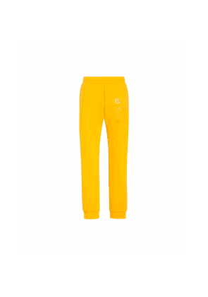 Fleece Joggers With Double Question Mark