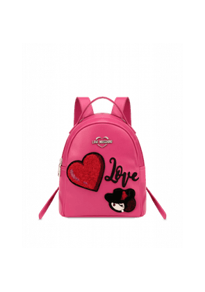 Backpack With Heart And Charming Doll