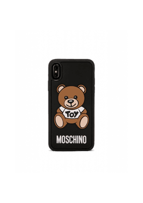 Iphone X Cover With Moschinoteddy Bear Application