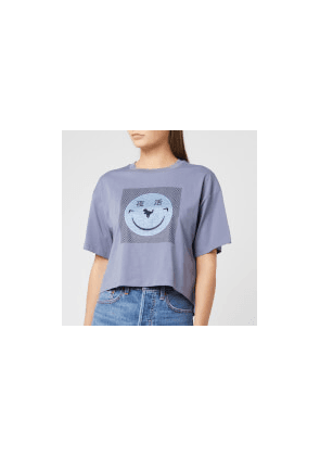 Coach 1941 Women's Cropped Yeti Out T-Shirt - Periwinkle - S