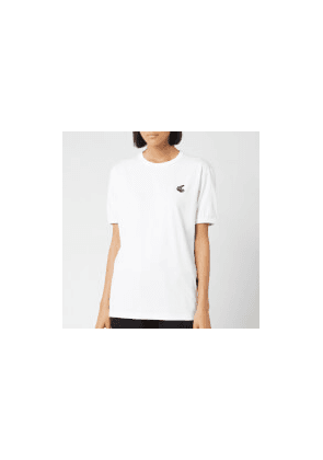 Vivienne Westwood Anglomania Women's New Classic T-Shirt Badge - White - S - White
