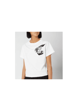 Vivienne Westwood Anglomania Women's Historic T-Shirt - White - S - White
