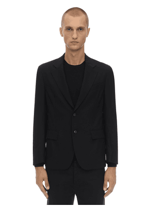 Packable Stretch Wool Travel Jacket