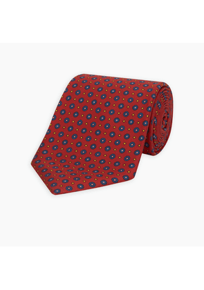 The Great Gatsby Red Printed Silk Tie