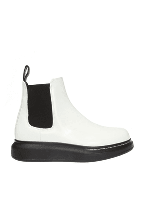 Alexander McQueen Branded ankle boots