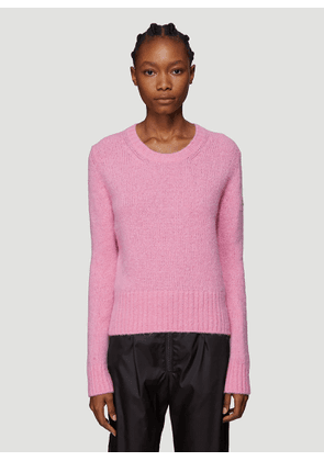 Moncler Maglione Tricot Sweater in Pink size XS
