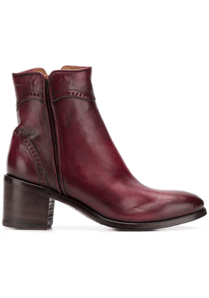 Alberto Fasciani Windy heeled ankle boots - Red
