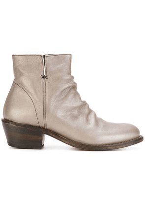 FIORENTINI + BAKER fitted boots - Silver