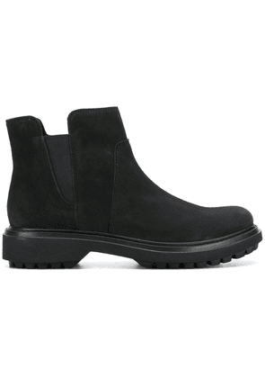 Geox elasticated panel boots - Black