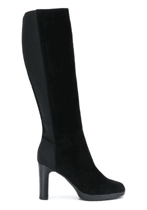 Geox elasticated knee-length boots - Black