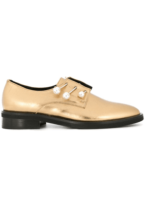 Coliac metallic loafers - Gold
