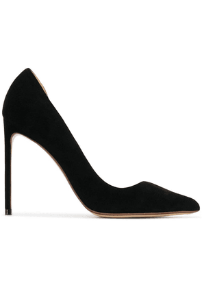 Francesco Russo classic pointed pumps - Black