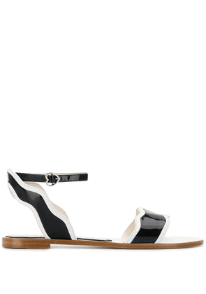 Francesca Bellavita Stardust flat sandals - Black