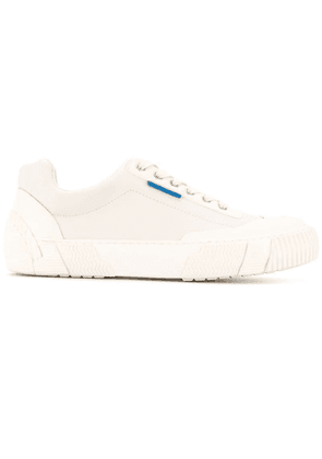 Both Broken lace-up sneakers - White