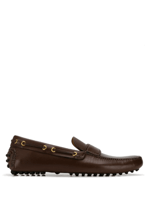 Car Shoe - Brown