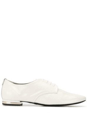 Agl pointed lace-up shoes - White