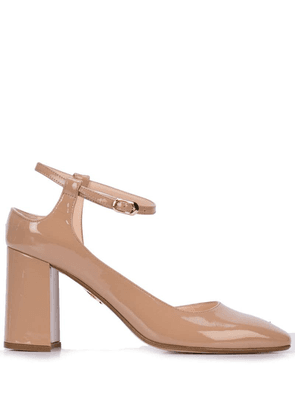 Andrea Gomez Goia asymmetric pumps - Brown