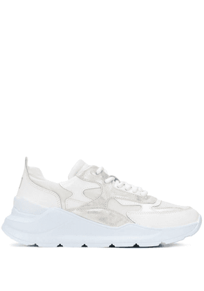 D.A.T.E. chunky lace-up sneakers - White