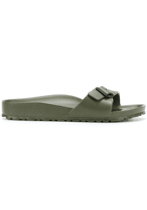 Birkenstock one-strap slides - Green