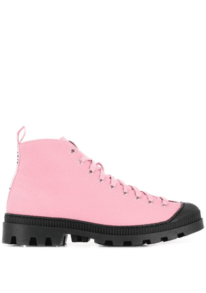 Loewe lace-up boots - Pink