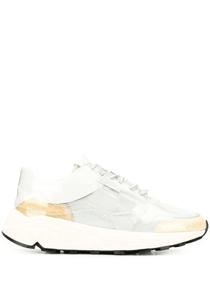 Buttero clear lace-up sneakers - White