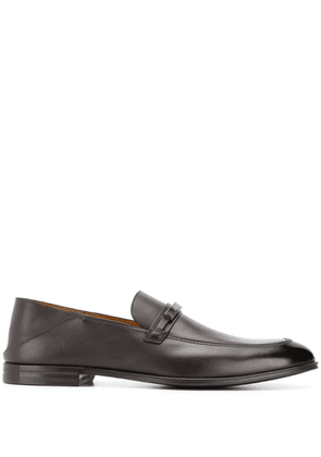 Bally slip on loafers - Brown