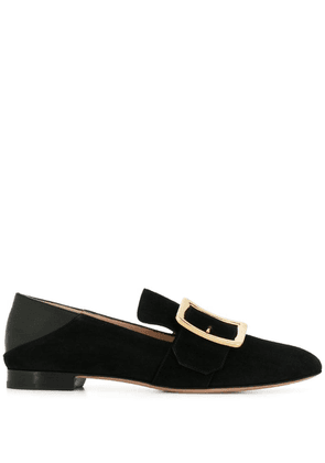 Bally side buckle loafers - Black