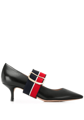 Bally contrast strap pumps - Black
