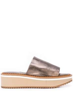 Clergerie slip on loafers - Silver