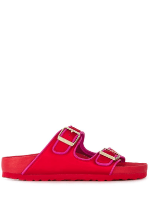 Birkenstock Arizona contrast trim sandals - Red