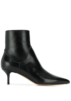 Francesco Russo heeled ankle boots - Black