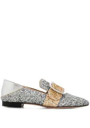Bally buckled Janelle loafers - Silver