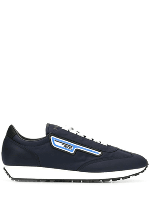 Prada low-top lace-up sneakers - Blue