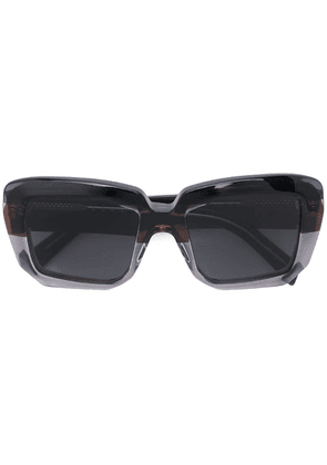 Marni Eyewear oversized square sunglasses - Grey