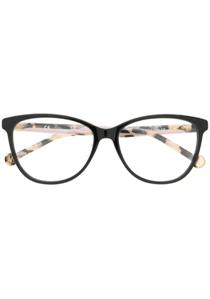 Ch Carolina Herrera cat eye glasses - Brown