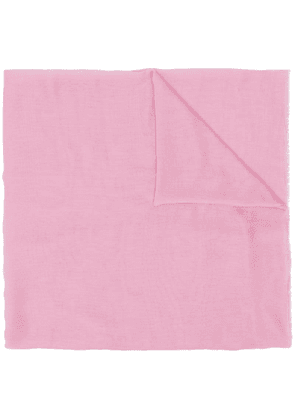 M Missoni embroidered logo scarf - Pink