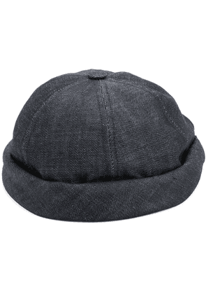 Beton Cire Miki denim sailor cap - Blue