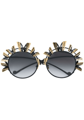 Anna Karin Karlsson The Butterfly sunglasses - Black