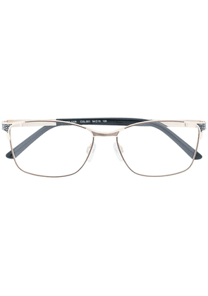 Cazal rectangular shaped glasses - Black